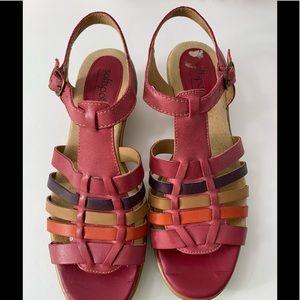 Softspots 7 sandals Pillowtop technology pink